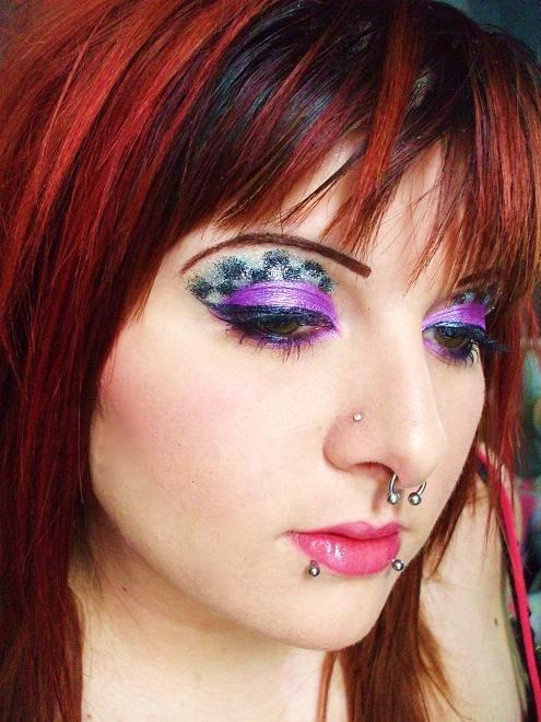 disco era makeup - SheClick.com