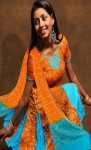 Orange-Pure-Chiffon-Wedding-Kameez-With-Churidar-and-Dupatta-Matching-Printed