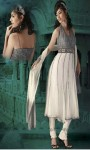 Wedding-Off-White-Pure-Chiffon-Churidar-with-Kameez-Open-Back-Side