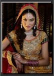 Fiza Ali in bridal drees
