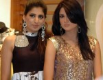 Fiza Ali with friend