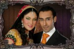 Fiza Ali with husband