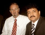 Hamid Mir And  Williams