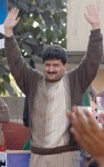 Hamid Mir in Happy mod
