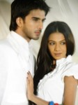 Imran With Model Photoshoot