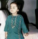 Maria B Childhood Pics