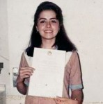 Maria b with Certificate