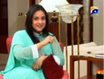 Nadia Khan on show