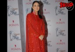 Nadia khan in Red Drees