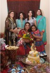 Nadia-khan-with-friends at Party Function