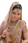 Sara Chaudhry in bridal drees