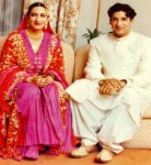 Wasim Akram Wedding Picture
