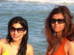 ayesha_omer_Maria on beach