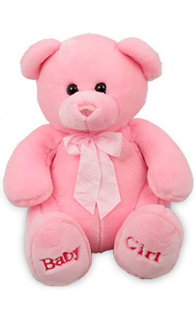 pink-teddy-bear-for-girls - SheClick.com