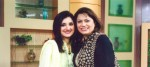 Ayesha Sana with Friend