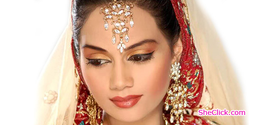 Pakistani Dulhan Bridal Makeup Tips Sheclick Com