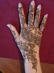 Dulhan Mehndi Designs for Hand
