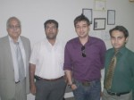 Faisal Qureshi In PAF-KIET as Guest Speaker