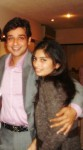 Faisal Qureshi With Daughter Hanish