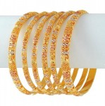 Gold Bangles Style
