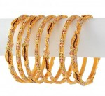 Gold Bangles in Pakistan