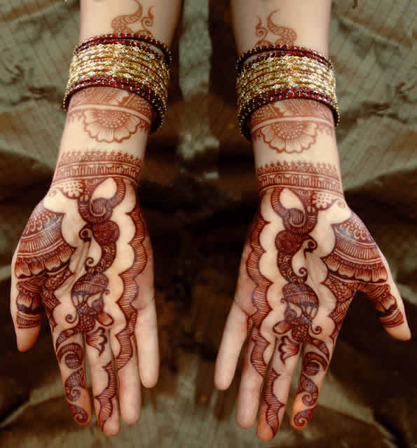 Indian Mehndi Style Sheclick Com