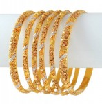 Latest Gold Bangles Designs