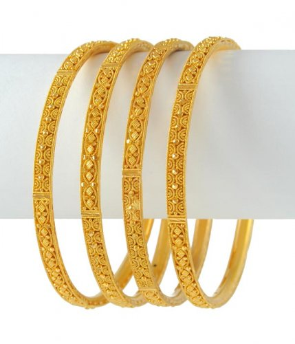 Latest Gold Bangles Set Sheclick Com