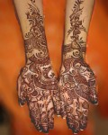 New Mehndi Style for Girls