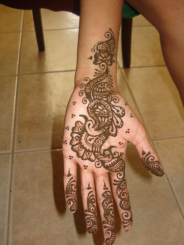 Pakistani Mehndi Designs For Hand