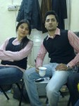 Sanam Baloch and Friend