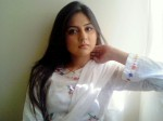 Sanam Baloch in White Dress