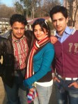 Sanam Baloch with Friends