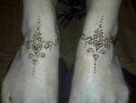 Anklet Henna Design