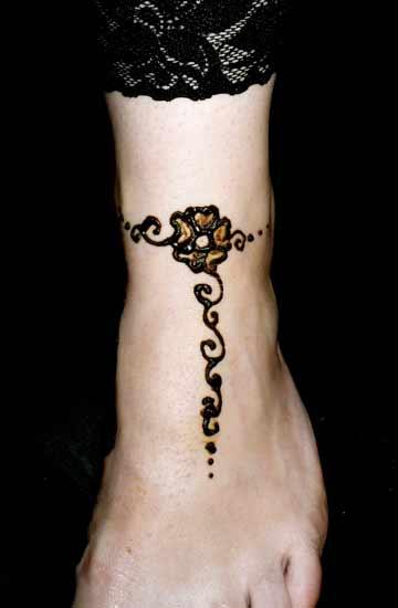 Henna Anklet Designs Sheclick Com