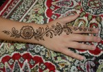Latest Mehndi Style for Children
