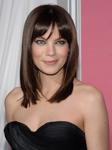 Actress Michelle Monaghan Hair Style