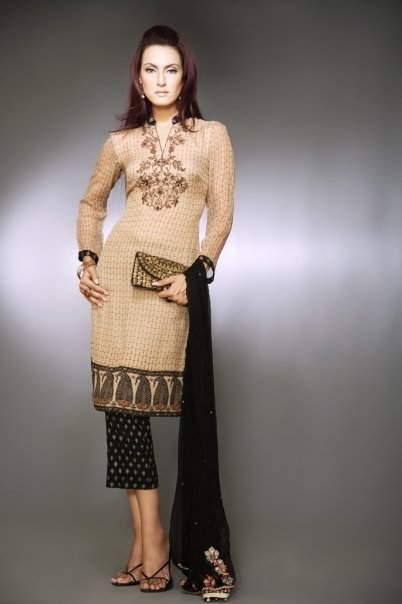 Pakistani Casual Dress Designs - Sheclickcom-7360