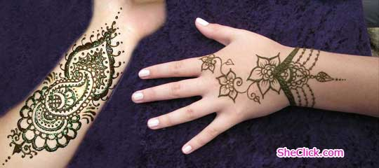 Mehndi Wrist Quote : Wrist mehndi henna designs collection sheclick