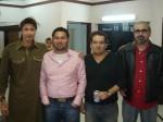 Aijaz Aslam and Friend