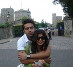 Fahad Mustafa and Wife