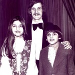 Nazia with Family
