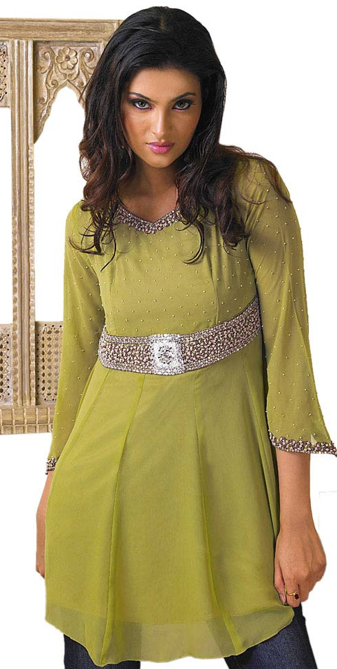 Types Of Mattresses >> Kurti with Jeans Designs 2010 - SheClick.com