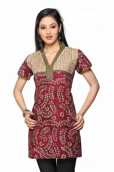 Fashion Arrivals New Stylish kurta designs for women with jeans 2013-14