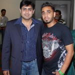 Abrar Ul Haq with Friend