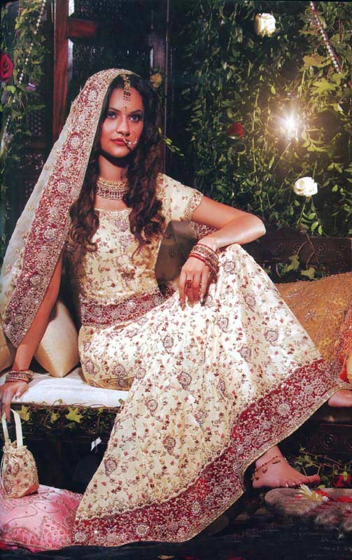 Cute Lehenga Bridal Dress