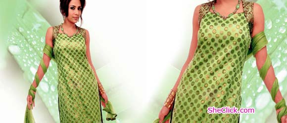 Green Suits For Women Stylish Dresses For Pakistani And