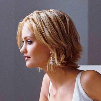 piecey women short sassy hairstyle