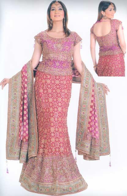 Pakistani Shaadi Lehngas Designs Latest Wedding Dresses