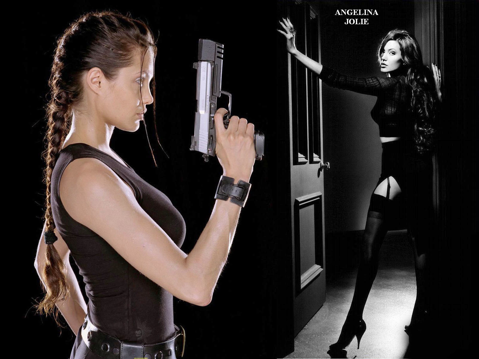 Angelina Jolie Action Film Star